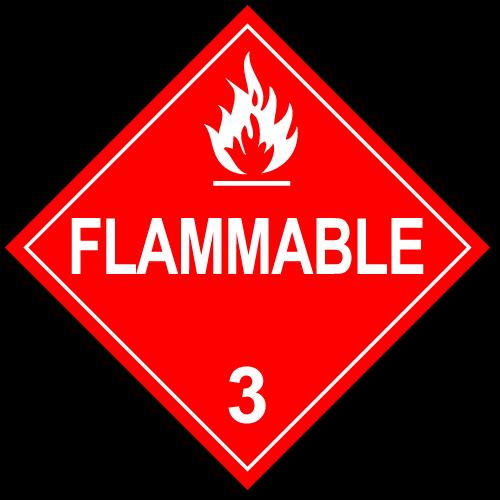 Class 3 - Flammable