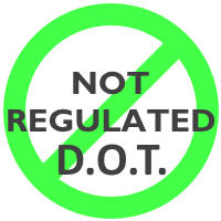 D.O.T. Not Regulated
